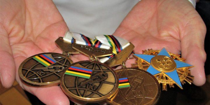 Le medaglie di Alessandra